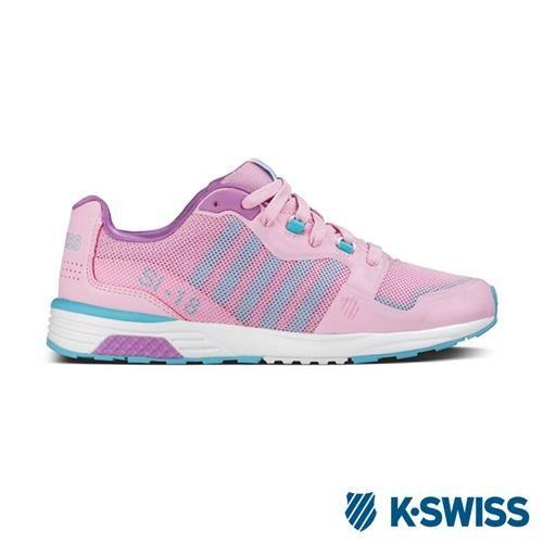 K-Swiss Si-18 Trainer 2.5休閒運動鞋-女-粉紅/淺紫/淺藍