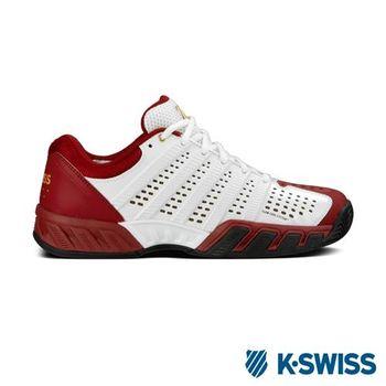 K-Swiss Bigshot Light 2.5 50th全方位運動鞋-白/紅/金