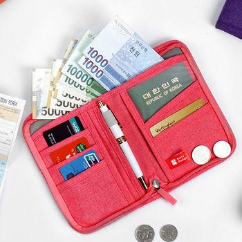 Botta Design時尚旅行短版護照夾