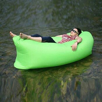 攜帶式便利空氣懶人床.沙發床/充氣床 (送USB滅蚊器)