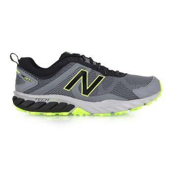 【NEWBALANCE】610 男越野慢跑鞋-2E- 寬楦 路跑 N字鞋 灰黑綠