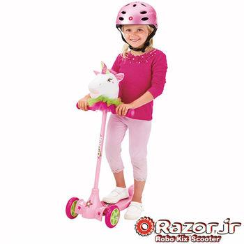 【 美國 Razor 】Kuties Scooter-Unicorn二合一兒童可愛滑板車 - 獨角獸