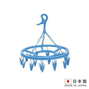 EBISU 日本進口彈簧式圓形曬衣夾16入L2046
