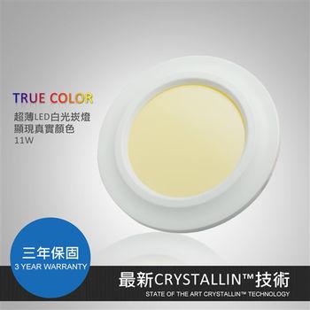 【光聚合】CRYSTALLIN LED崁燈11W 6吋15cm超顯色超薄