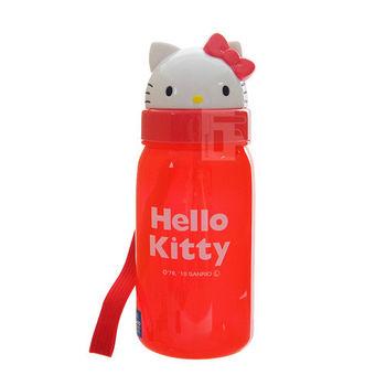 Skater吸管水壺(350ml) Kitty
