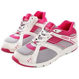 【海夫健康生活館】日本登錄普 (DUNLOP) 拇指外翻健走鞋 (紅白)