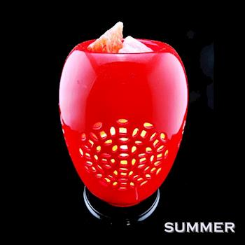 【SUMMER寶石】青花瓷鹽燈聚寶盆