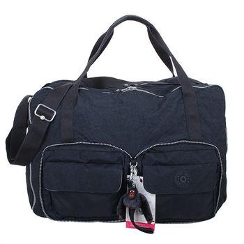 KIPLING  -TRUE BLUE可收納多功能手提肩背包(深藍)