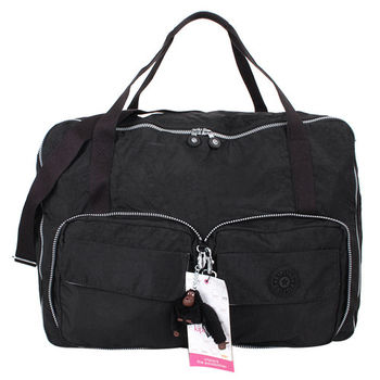 KIPLING  -BLACK可收納多功能手提肩背包(黑)