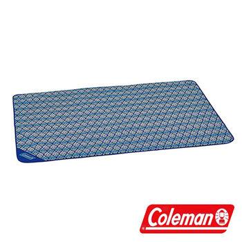 Coleman 藍葉圖騰野餐毯 CM-23121  戶外 野餐 遊戲毯