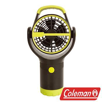 Coleman BATTERYLOCK 杯架風扇/萊姆綠 電風扇 迷你風扇 小吊扇 CM-27313