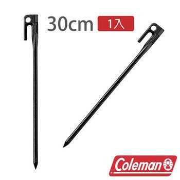 Coleman 30cm 鍛造鋼營釘/黑 CM-7188 露營 │ 戶外 │ 帳蓬 │ 登山