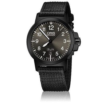 Oris BC3 Advanced日曆星期飛行錶-黑/42.00 mm(0173576414733-0752224B)