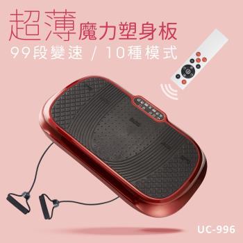 巧福超薄魔力塑身板/動動機/甩脂機 UC-996