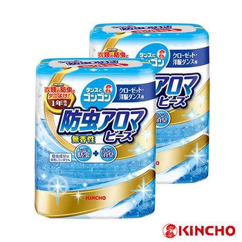 【日本金鳥】無香料1年期衣櫥防蟲aroma/2入