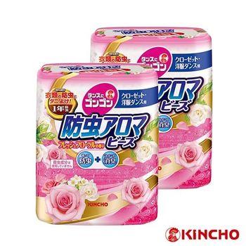 【日本金鳥】鮮花香1年期衣櫥防蟲aroma/2入