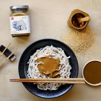 小森 白芝麻醬+100%純 黑芝麻醬 組(8罐裝)