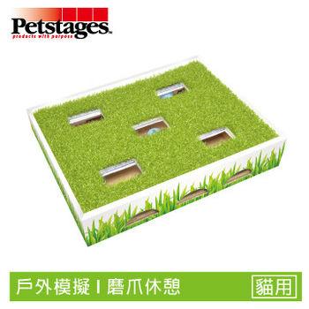 《美國 Petstages》 708 草地迷蹤球 磨爪子 貓抓板 特殊設計 寵物玩具