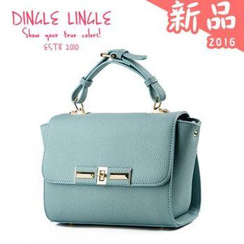 Dingle - 韓版甜美純色手提包*共7色