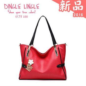 Dingle - 韓版時尚典雅單肩手提包*共9色
