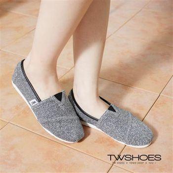 【TOMO】閃爍金蔥平底懶人鞋【K160A2431】