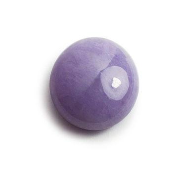 BRILLMOND 頂級蛋面天然紫羅藍翡翠祼石