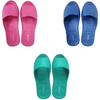 MONZU滿足曲線輕量兒童室內拖鞋*3雙(任選)