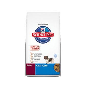 【Hill's】美國希爾思 成犬口腔保健配方 飼料 2公斤 X 1包