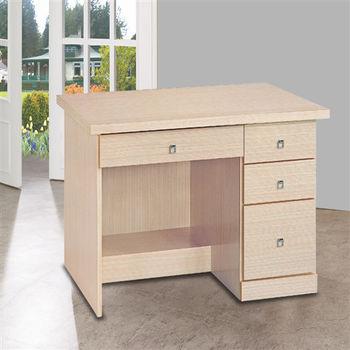 【時尚屋】[5U6]西雅圖白橡3.2尺書桌5U6-224-963