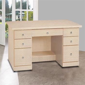 【時尚屋】[5U6]西雅圖白橡4.2尺書桌5U6-224-962