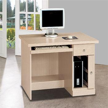 【時尚屋】[5U6]西雅圖白橡3.2尺電腦桌5U6-224-961