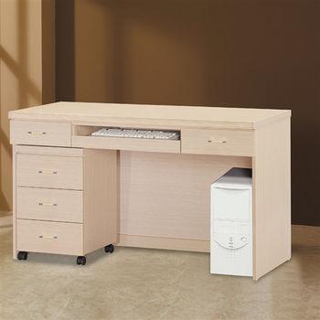 【時尚屋】[5U6]布克4尺電腦桌5U6-220-7644二色可選