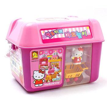 【 Hello Kitty 凱蒂貓】積木系列-KT歡樂超市積木組 KT17038