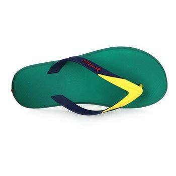 【Rider】男運動拖鞋 -人字拖鞋 夾腳拖 海邊 海灘 沙灘 游泳 綠黃藍