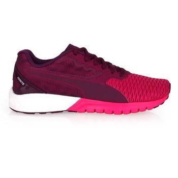 【PUMA】IGNITE DUAL WNS 女慢跑鞋- 路跑 訓練 紫桃紅