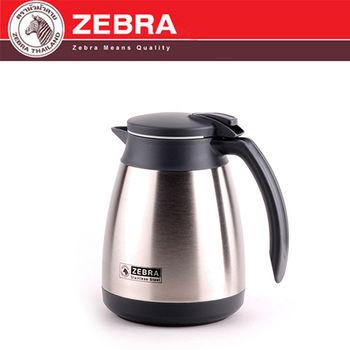 【斑馬 ZEBRA】 304不銹鋼真空咖啡保溫壺_1L