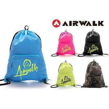 (超值2入組) 【美國 AIRWALK】新上市第二代束口袋 - 共五色