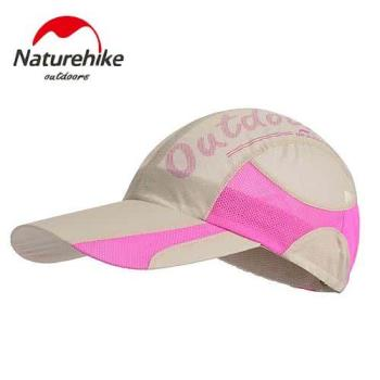 【Naturehike】混色風格款防曬透氣遮陽帽/鴨舌帽/棒球帽 (卡其)