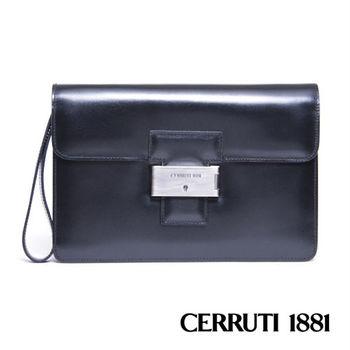 CERRUTI 1881義大利進口手包- 黑色 020F-E0801