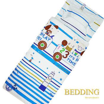 BEDDING 青春進行時  100%棉 多功能冬夏兩用鋪棉兒童睡袋