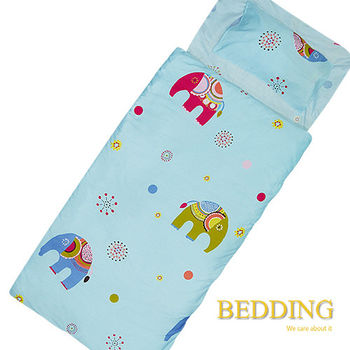 BEDDING 吉祥寶貝  100%棉 多功能冬夏兩用鋪棉兒童睡袋