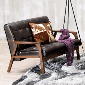Bernice-曼哈頓實木沙發雙人椅/二人座