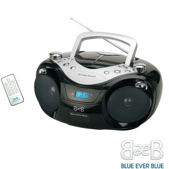 福利品-美國Blue Ever Blue CD/USB/MP3手提音響(CD-735U)