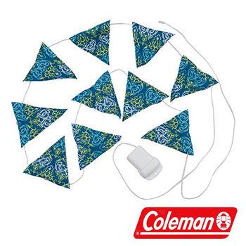 Coleman LED串燈 藍 CM-22287 營燈|露營|戶外