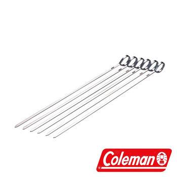Coleman Stainless Skewer 不銹鋼燒烤叉 一組6入 CM-9076J