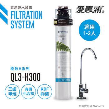 【愛惠浦公司貨】EVERPURE 旗艦精緻型淨水器(QL3-H300)
