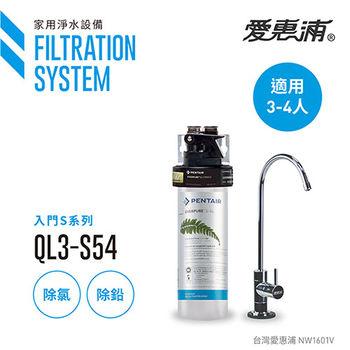 【愛惠浦公司貨】EVERPURE 除鉛精緻型淨水器(QL3-S54)