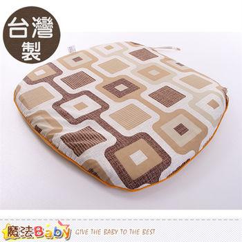 魔法Baby~台灣製涼蓆面椰棕餐椅墊 ~id184_f