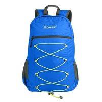 ~Gonex ~2016男 超輕折疊25L藍色旅行背包 ^#40  ^#41