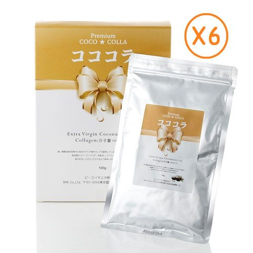 【BHN】日本特級膠原蛋白粉100g/盒*6盒